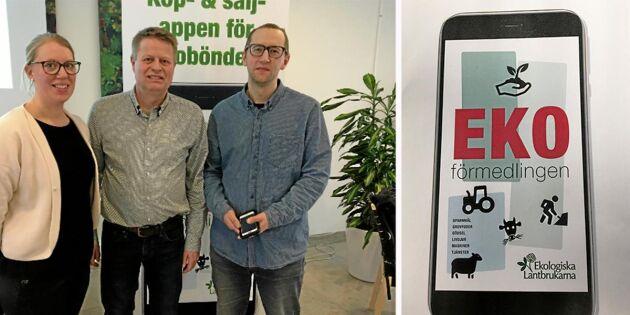 App ska förenkla för landets ekobönder