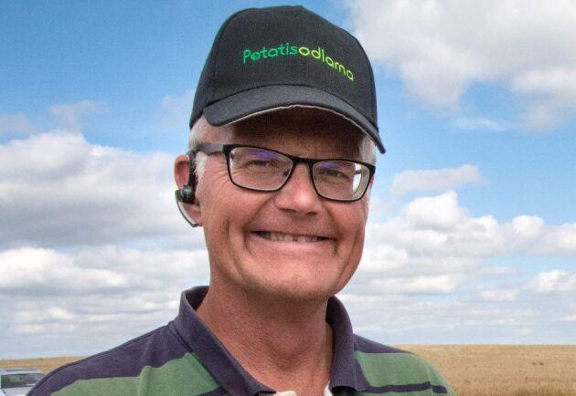 Anders Andersson är ordförande i föreningen i Potatisodlarna.