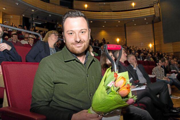 Michael Verdicchio, journalist på Göteborgs-Posten, berättade om arbetet med sin granskning av den militanta djurrättsaktivismen.