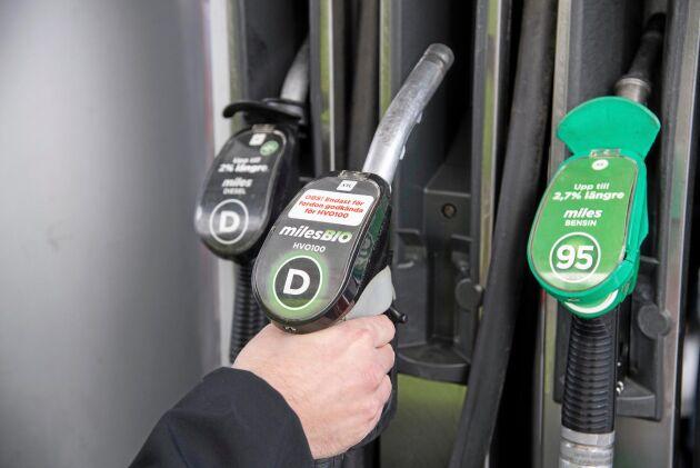 Regler om miljöinformation om drivmedel införs senare än planerat.
