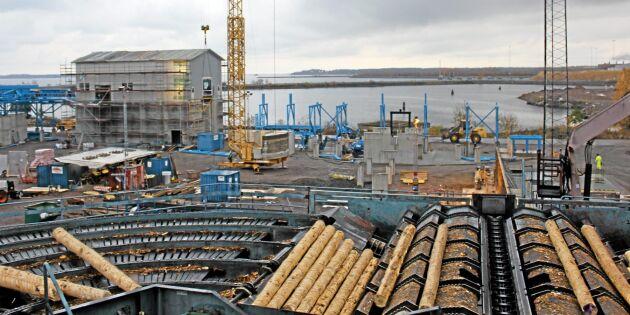 Setra, tillsammans med Stora Enso och Södra, gör satsningar på KL-trä.