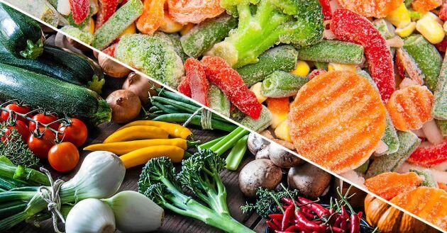 När grönsakerna lagras går en del av näringen till spillo. Men det finns metoder som gör spillet minimalt.