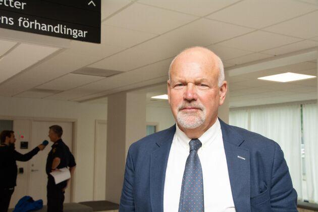 Klas Lundgren, kammaråklagare vid Halmstad åklagarkammare, har ingen anledning att överklaga domen mot 38-åringen.