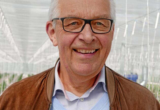 Lennart E Bengtsson, VD för Wapnö.