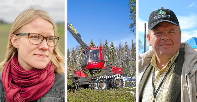 Kristina Yngwe och Eskil Erlandsson är två av centerpartisterna bakom debattinlägget.