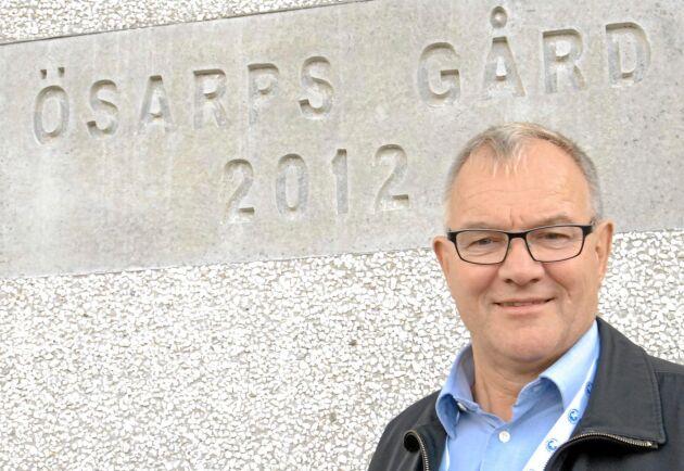 Åke Hantoft lämnar såväl sin gård som uppdraget som ordförande för Arla.