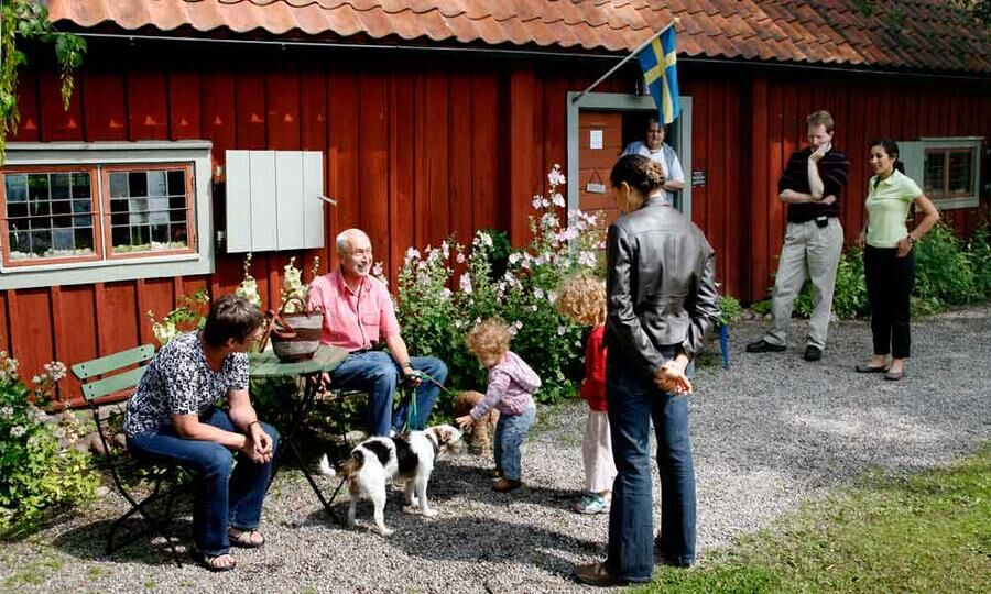 Rademachersmedjorna är ett av Eskilstunas klassiska utflyktsmål.