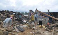 De hjälper tyfondrabbade lantbrukare i Vietnam