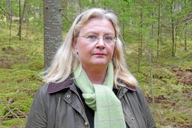 Erika Henmalm Koch, skogsägare och fastighetsmäklare i Tingsryd