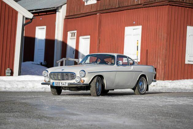 Den eleganta designen gjorde Volvo P1800 till en världssuccé på 1960-talet.