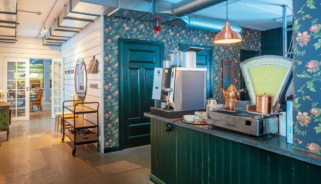 Bälinge gårds restaurang är luftig och fräsch, med rejält tilltagna ytor.