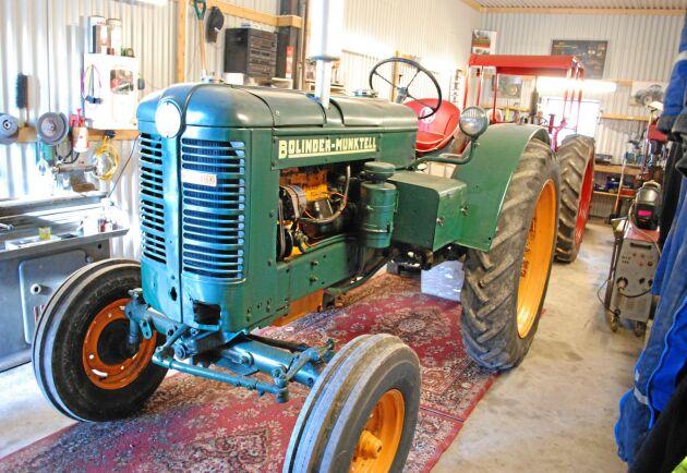 En BM 36 ansågs vara en ganska stor traktor i Norge.