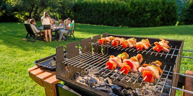 Här införs totalförbud mot grillning – även på den egna tomten