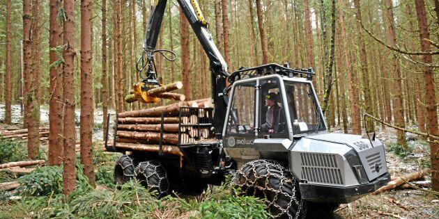 Stor framgång för små skogsmaskiner