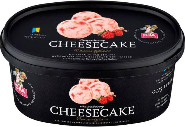 Sia glass har sju sorter som innehåller palmolja, däribland dessertglassen cheesecake.