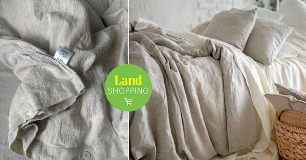 Inte undra på att Ernst Kirchsteiger valde dessa sängkläder till sitt sommarprogram – naturligt oblekta, ofärgade med sensuella skrynklor bidrar det till rustik lantlig look i ditt sovrum.
