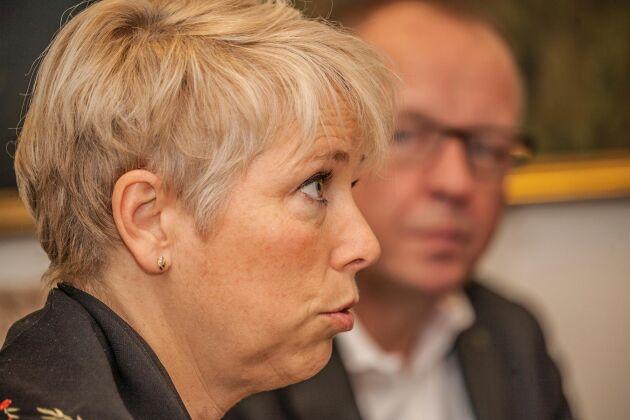 Helena Jonsson, förbundsordförande för Lantbrukarnas riksförbund.