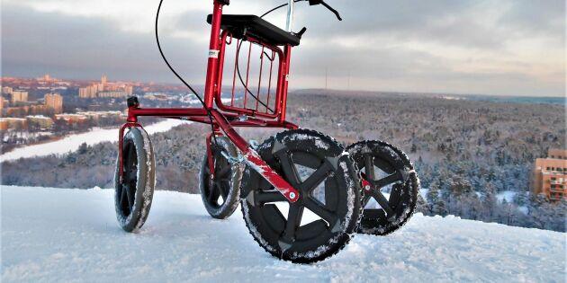 Så smart och rart! Tre unga entreprenörer från Sundsvall har uppfunnit rullatorbroddar