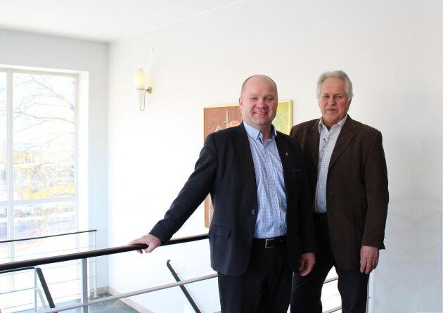 Magnus Lindberg, Gefleortens vd och Thomas Lundgren, Gefleortens ordförande