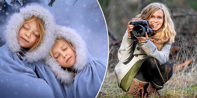 Maria är sagofotograf – se hennes magiska bilder