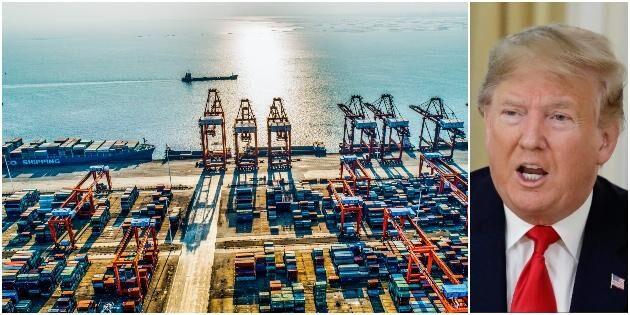 Uppgifter: Kina och USA närmar sig handelsavtal