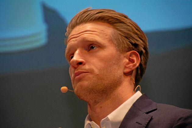 Joakim Sköld Östling, affärsområdeschef på Martin & Servera, efterlyser en bättre produktutveckling.