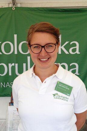 Sofia Sollén Norrlin, verksamhetsledare för Ekologiska Lantbrukarna.