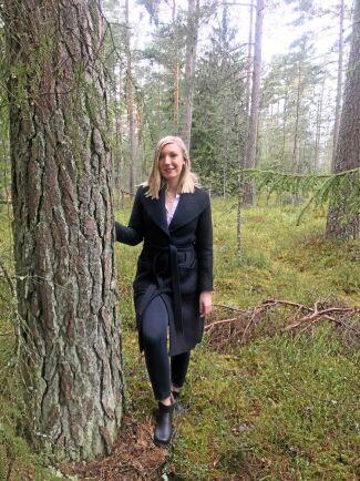 Det gäller att ha känsla för både skog och teknik när man forskar i digitala skogsaffärer.