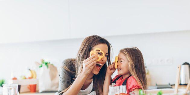 Ny studie: Hälsosam mat ger gladare barn
