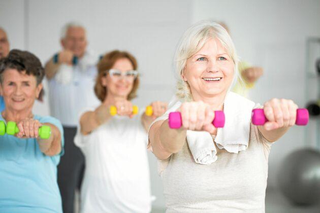 Motion är nyckeln till välmående, och också viktigt för att förebygga demens.