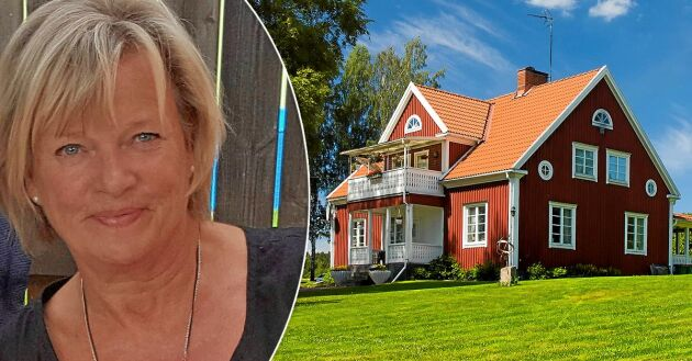 Anna-Karin Bergmark trivs alldeles utmärkt med att jobba efter att ha fyllt 70.