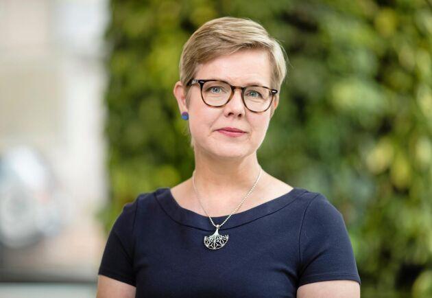 """""""Att bekämpa klimatförändringen och utarmningen av naturen är de största utmaningarna i vår tid"""", säger Krista Mikkonen."""