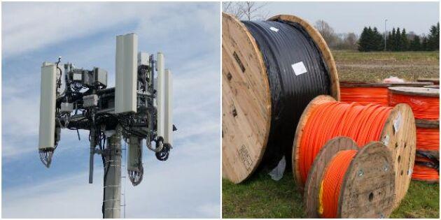 Nya regler öppnar för strid mellan 5G och fiber