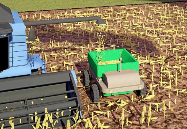 Lastvikter över sju ton är inte otänkbart när roboten sätts i produktion. För att bibehålla en hög jordhälsa är det dock viktigt att axeltrycket inte överstiger sex ton, enligt utvecklarna bakom robotkonceptet Fieldgofer.