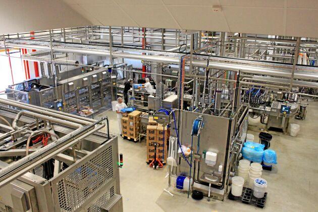 Under 2015 investerade SIA Glass 75 miljoner kronor i en ny produktionslinje för att kunna ta en större skopa av glassmarknaden.