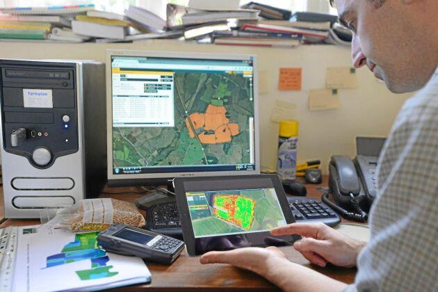 Man arbetar bland annat tillsammans med kunderna i webbportalen MySOYL. Där finns funktioner för agronomisk analys av precisionsodlingsdata.