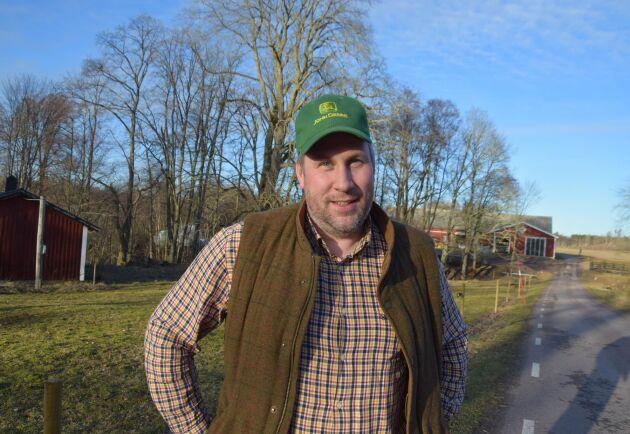 John Widegren är landsbygdspolitisk talesperson för Moderaterna.