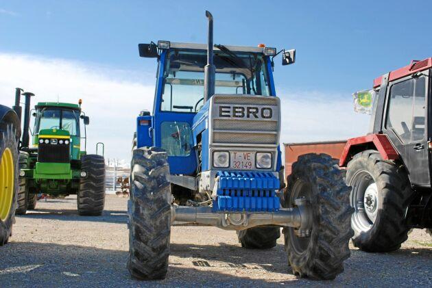 Ebro-traktorerna tillverkades till 1994 och den sista tiden ägdes bolaget av Nissan.
