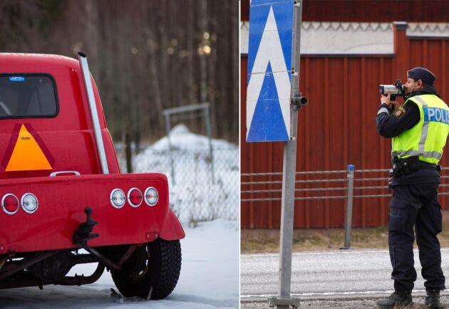 I maj i år infördes besiktningskrav på alla A-traktorer där man bland annat kontrollerar att fordonet inte går att köra snabbare än 30 kilometer i timmen.