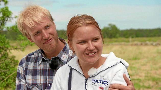 """Simon Ohlsson valde Frida Eriksson att åka med på kärleksresan till Rhodos i """"Bonde söker fru"""" 2018. Frida dök aldrig upp och Simon berättade öppet om hur det krossat hans hjärta."""