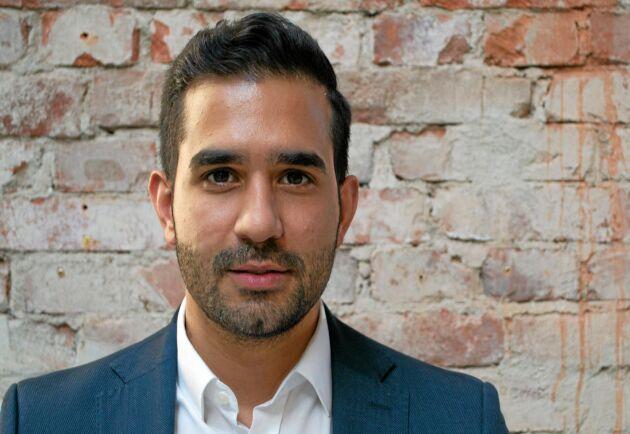 – De förmedlade volymerna ökar med 30-50 procent per månad, och vi får 7-16 nya användare per dag, det är otroligt kul, säger Adam Aljaraidah.