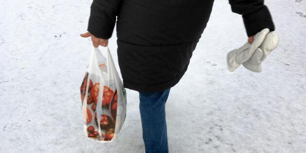 Nu införs ny skatt på plastpåsar – då höjs priset i butik