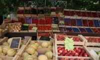 Bondeprotester mot spansk frukt