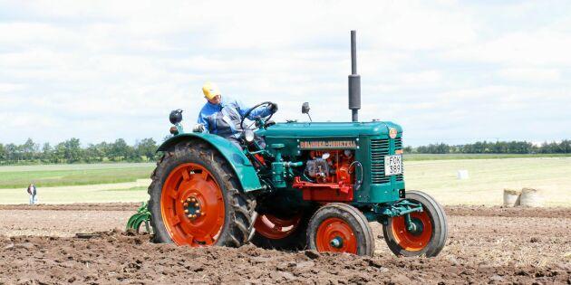 10 000 bönder var med och byggde traktorsuccén