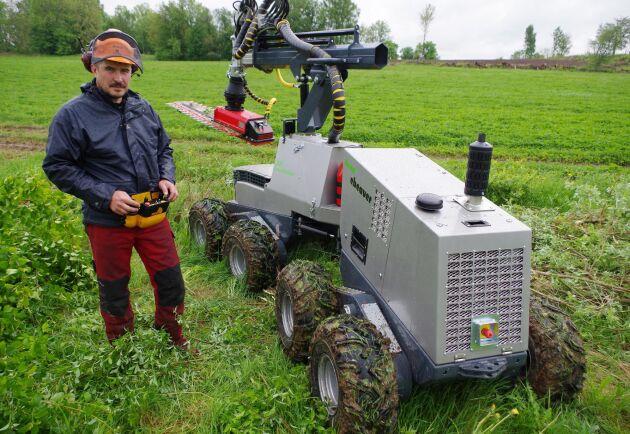 """""""Vi var tio år före vår tid"""", säger Johan Dagman, en av konstruktörerna bakom eBeavern."""