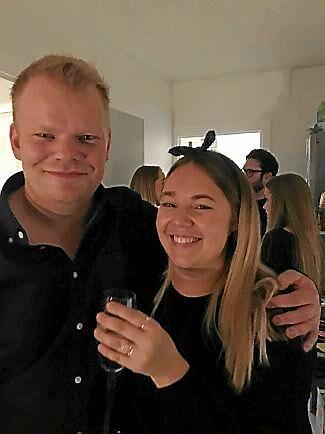 """Per Solberg och Sofie Öhman blev ett par efter """"Bonde söker fru"""" 2018."""
