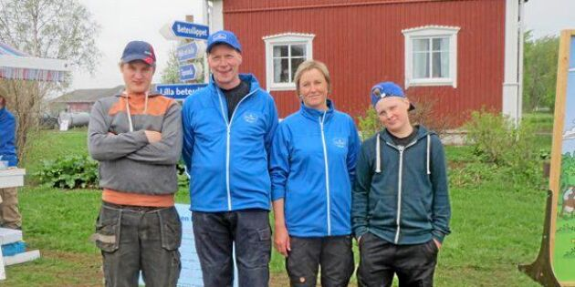 Hjälpen kom från Finland