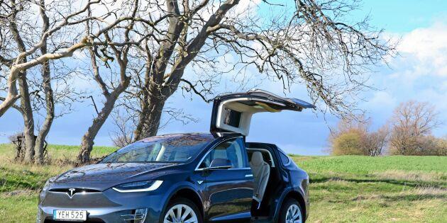 ATL har provkört suven Tesla Model X