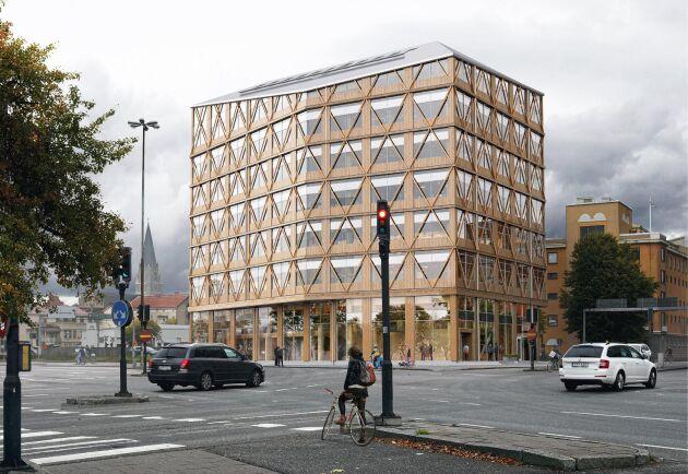 Det nya polishuset i Örebro ska byggas helt i trä och ska ge netto noll klimatutsläpp under sin livscykel.