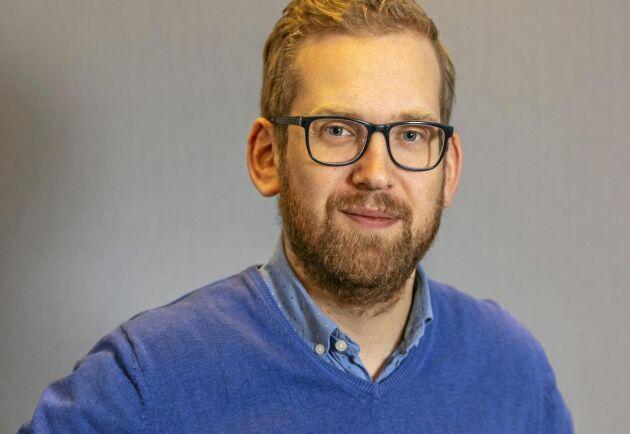 Alexander Ojanne, ombudsman Stockholm.
